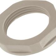Контргайки Lapp Kabel для кабельных вводов Skintop GMP-GL-M 16x1,5 RAL 7001 серые, армированные стекловолокном фото