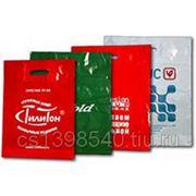 Печать на пакетах ПВД фото