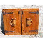 Словянский стиль дверки для бара.Изготовить по индивидуальным проектам. фото