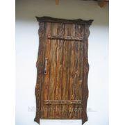 Двери под старину на Мазанке. фото