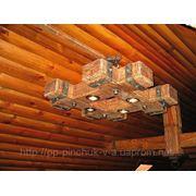Люстра под старину для ресторанов кафе баров пабов фото