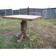 Славянский стиль стол квадратный фото