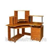 Угловой компьютерный стол с надстройкой Фабрика Имаго Арсенал-2 фото