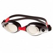 Очки для плавания ПОДРОСТКОВЫЕ ALPHA CAPRICE KD-G45 Black-Red фото