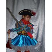 Костюм Пирата для девочки. Прокат. фото