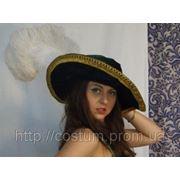 Шляпа в стиле 18 века. Прокат. фото