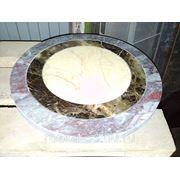 Гидроабразивная резка камня, керамогранита фото