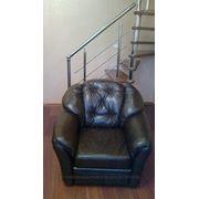 Перетяжка мягкого кресла фото