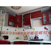 Кухня лак Спелая вишня фото