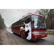 Заказ автобуса на свадьбу фото