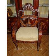 Копия старинного стула из массива вишни