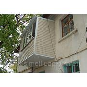 Балконы. Изготовление под ключ в Севастополе и Ялте. фото