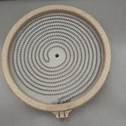 Конфорка для стеклокерамической плиты D=200мм, 1700W, 220-240V фото