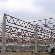 Изготовление стальных конструкций фото