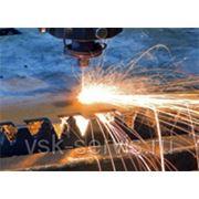 Врезка лазером в нержавеющей сталь цена за 1 отв. 1,0 мм фото