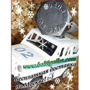 Болты фундаментные прямые, тип 5 м16х600 ГОСТ 24379.1-80. ст3-35, 35х, 40, 40х, 09г2с, 45. ( масса шпильки 0.95 кг. ). фото