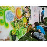Стена граффити фото
