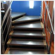Лестница маршевая фото