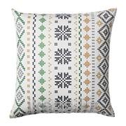 Чехол на подушку, бел,зелен ПИПОРТ фото