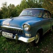Прокат ретро автомобиля ГАЗ-21 фото