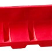 Барьер переносной пластиковый водоналивной (ВНБ) Дорожник фото