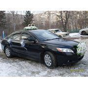 Украшение авто на свадьбу фото