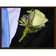 Бутоньерка жениху фото