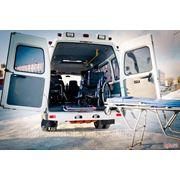 Транспортировка (перевозка) лежачих больных и инвалидов-колясочников фото