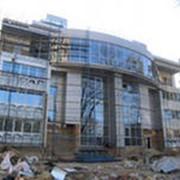 Монтаж фасадов, ремонт фасадов жилых, общественных и производственных зданий фото