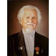 Портрет дедушки,картина, маслом на холсте, фото