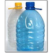 ПЭТ Бутылка 5 литров+крышка-ручка фото