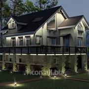 Дизайн подсветки фасадов здания фото
