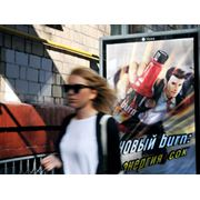 Реклама на афишных щитах фото