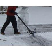 Снегоочиститель ручной грейдер снегоуборочная техника фото