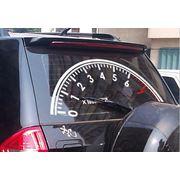 Наклейка «Тахометр» на заднее стекло автомобиля фото