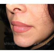 Перманентный макияж губ (татуаж губ) фото
