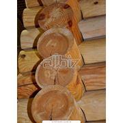 Сруб дома деревянный фото