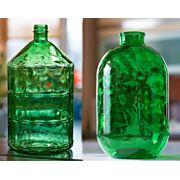 22л - 95 грн 10л - 40 грн. Бутыль стеклянный зеленый. (купить стеклянные бутыли оптом стеклотара опт) фото