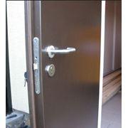 Двери гладкие ЕІ 60 ЕІ 30 двери противопожарные однопольные и двупольные фото