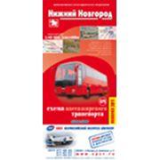 Схема пассажирского транспорта Н.Новгорода фото