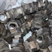 Контргайка стальная 65 ГОСТ 8968-75, оцинкованная фото
