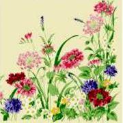 Салфетки цветные ВЕЙРО Полевые цветы фото