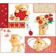 Салфетки детские бумажные ВЕЙРО Медвежата фото