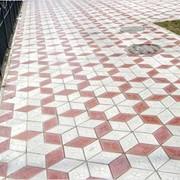 Кладка тротуарной плитки, кладка брусчатки фото