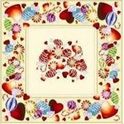 Салфетки праздничные бумажные ВЕЙРО Конфеты 33Б3/20 фото