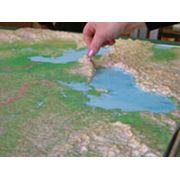 Рельефные карты фото