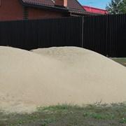 Песок речной и карьерный.