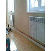 Отопление водяное с установкой радиаторов конвекторов фото