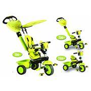 Велосипед Smart Baby Toys 3-колесный зеленый с ручкой 3 в 1 фото