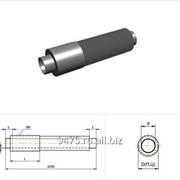 Концевой элемент стальной в полиэтиленовой трубе-оболочке d=530 мм, s=7 мм, L=210 мм фото
